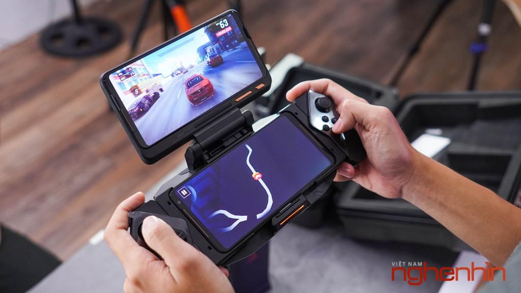 Khui vali phụ kiên Asus ROG Phone 2 Tencent Games giá 40 triệu tại Việt Nam ảnh 10