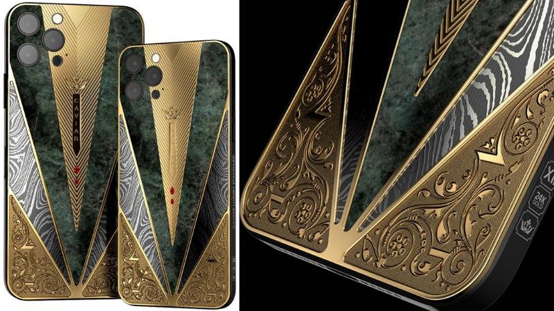 Caviar ra mắt iPhone 12 hơn 1 tỷ đồng: Phiên bản chiến binh cổ đại siêu ngầu ảnh 2