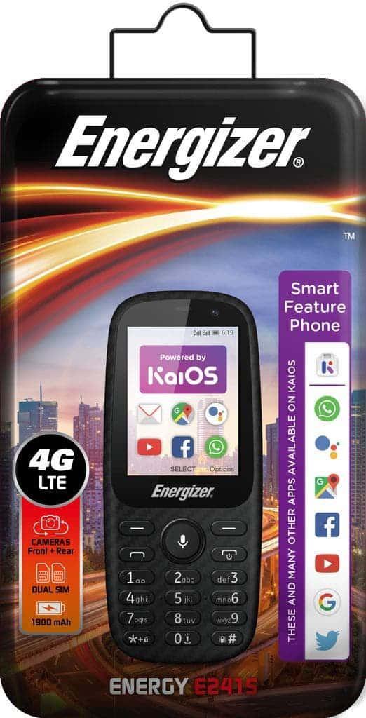 Energizer tung ra điện thoại giá rẻ mới: RAM 4GB, pin trâu ảnh 3