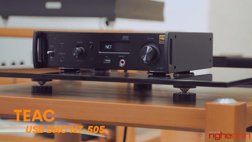 Review TEAC NT-505 và AP-505 – Bộ mini hi-end tối ưu dành cho audiophiles chuyên chơi nhạc số ảnh 1