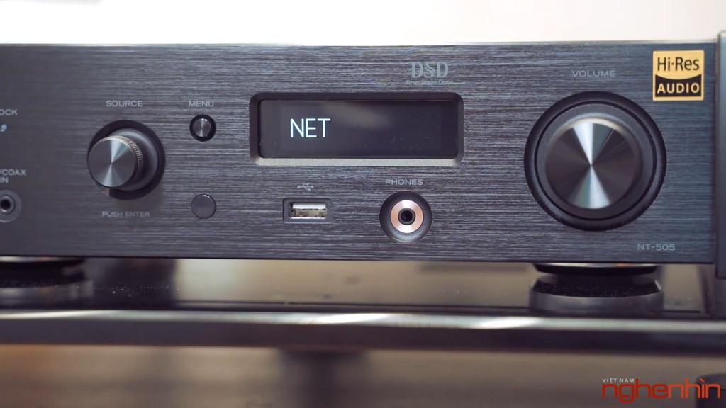 Review TEAC NT-505 và AP-505 – Bộ mini hi-end tối ưu dành cho audiophiles chuyên chơi nhạc số ảnh 3