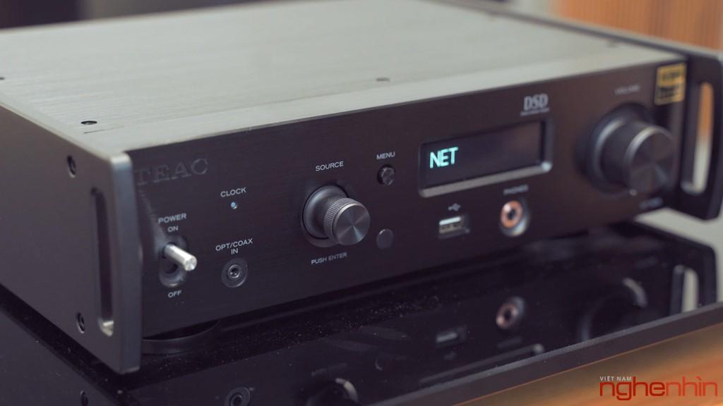 Review TEAC NT-505 và AP-505 – Bộ mini hi-end tối ưu dành cho audiophiles chuyên chơi nhạc số ảnh 5