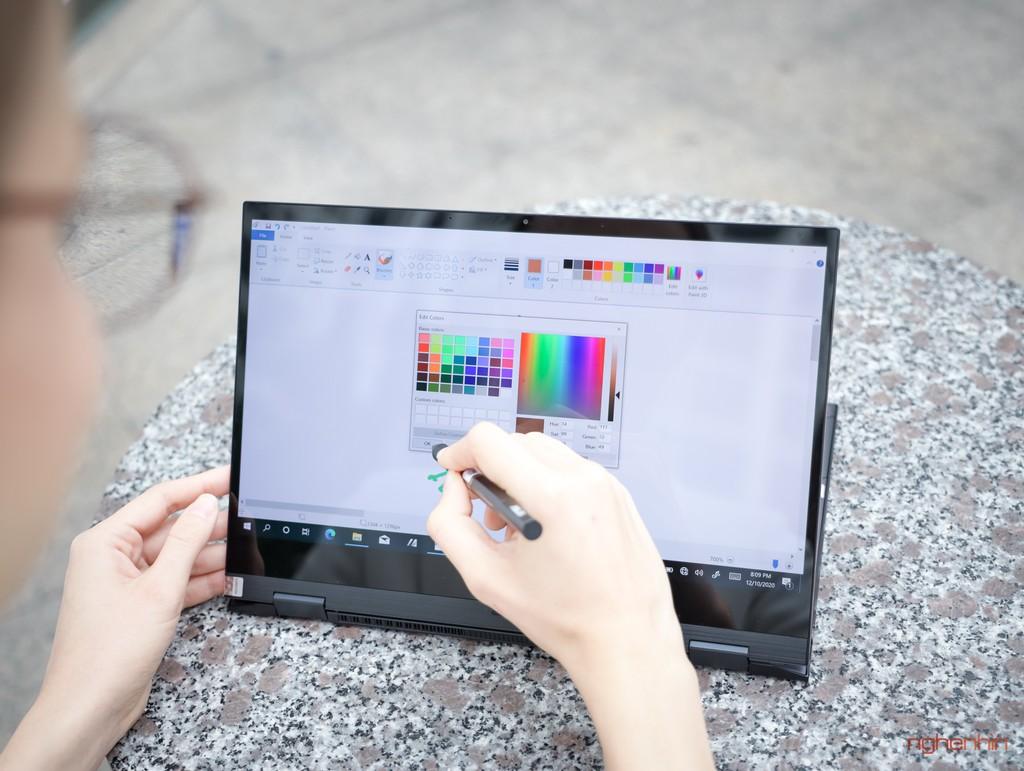 Trên tay Asus ZenBook Flip S : laptop 2 trong 1 cao cấp, mỏng nhất thế giới ảnh 10