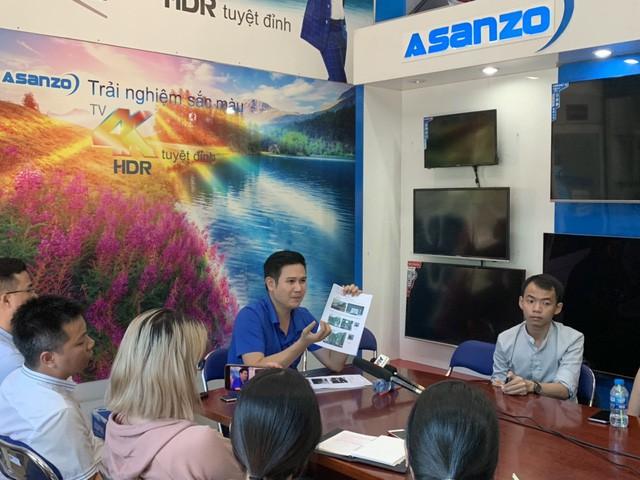 Asanzo nói gì trước cáo buộc Cạo tem Trung Quốc, dán tem Việt Nam? - Ảnh 2.