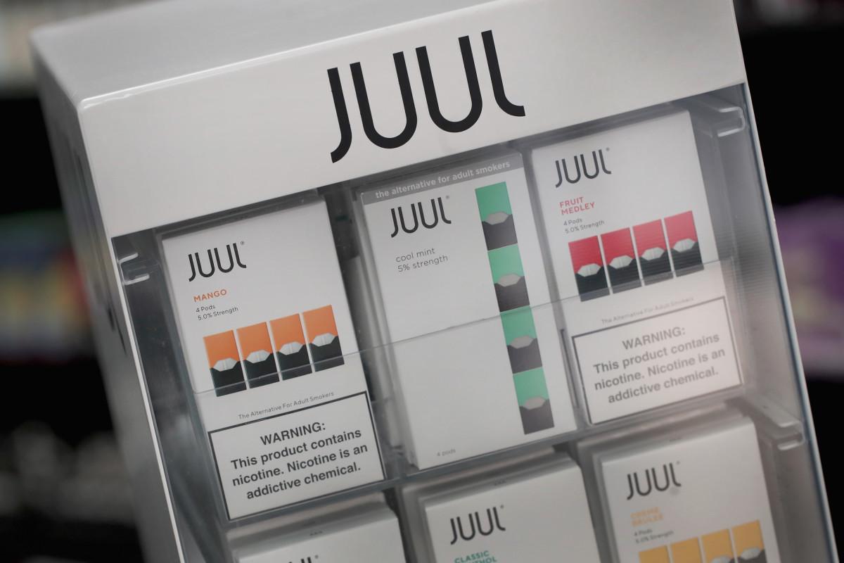 Juul, công ty sản xuất thuốc lá điện tử chắc chắn sẽ chịu ảnh hưởng nặng nề từ lệnh cấm. Ảnh: Pacific Standard.