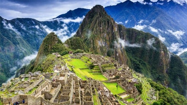 Di tích Machu Picchu.