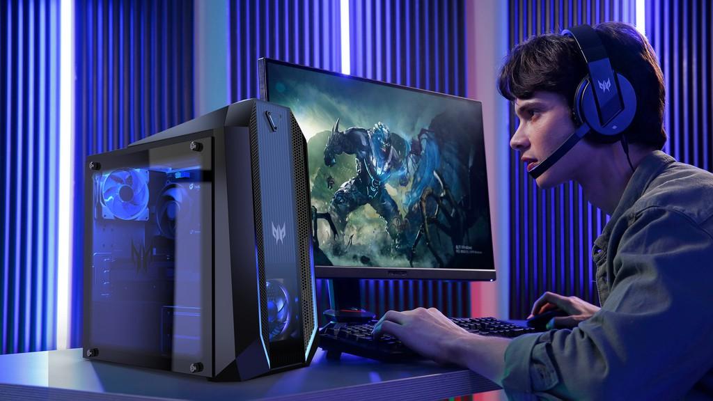 Acer đưa chất gaming Predator lên loạt desktop, màn hình, và phụ kiện mới ảnh 1