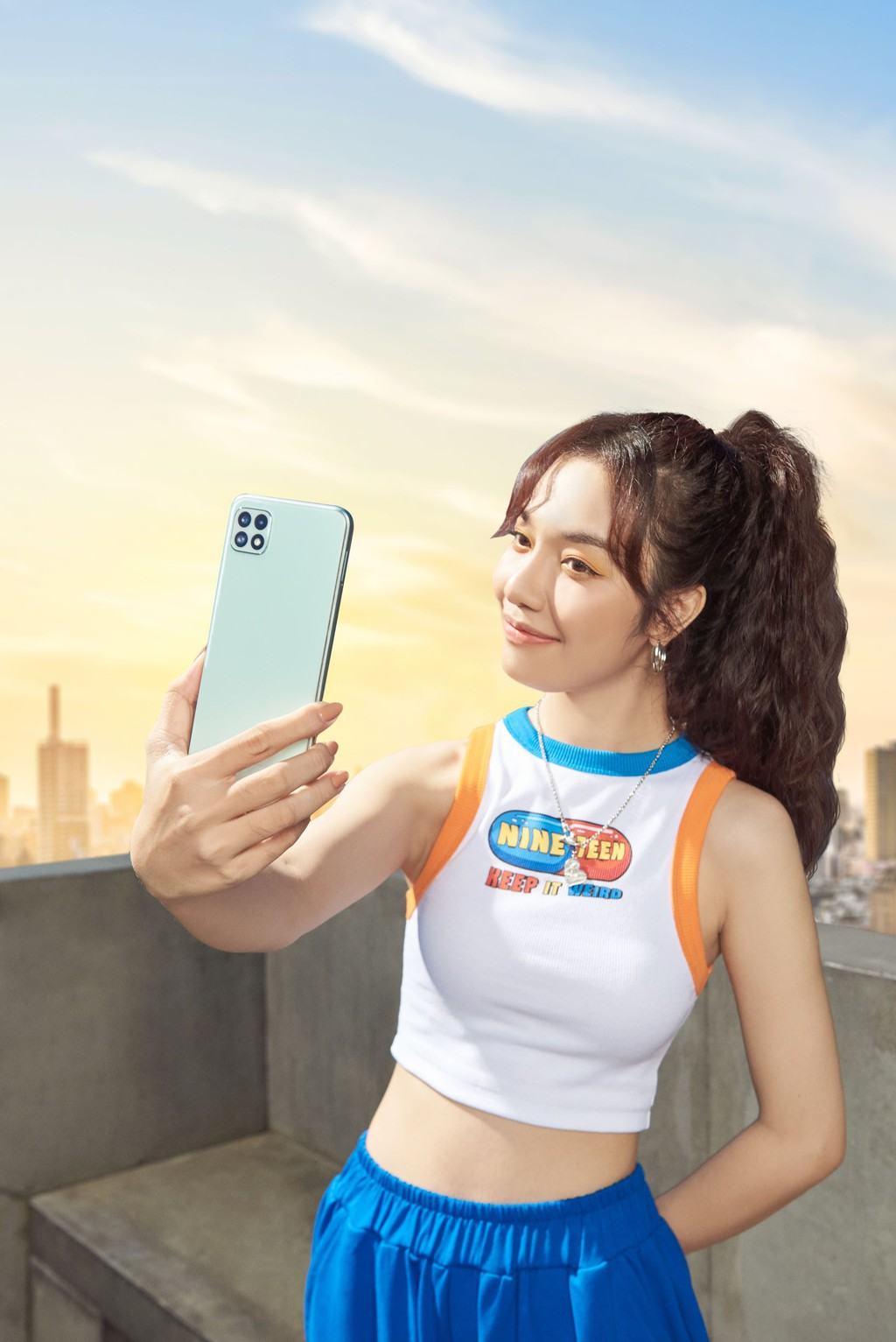 Samsung chính thức ra mắt Galaxy A22 camera chống rung quang học OIS giá 5,9 triệu ảnh 7