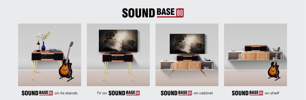 Sumico Sound Base 80 – Hệ thống loa All-In-One dẫn đầu xu hướng giải trí tiện ích ảnh 3