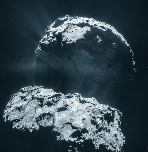 Hình ảnh cận cảnh về sao chổi Rosetta