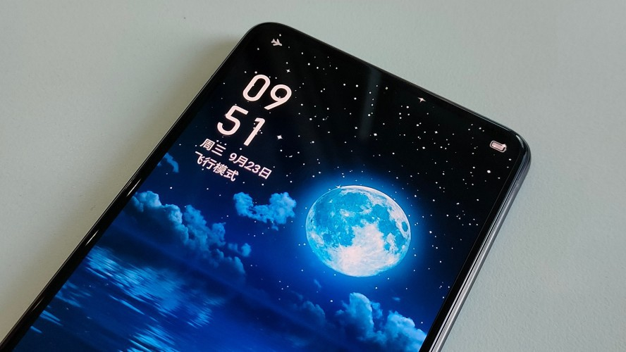 Realme smartphone mysteriously appeared, with camera hidden under the screen?