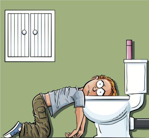 Bệnh có một số triệu chứng điển hình đầy bụng, sôi bụng; tiêu chảy liên tục, nhiều lần..