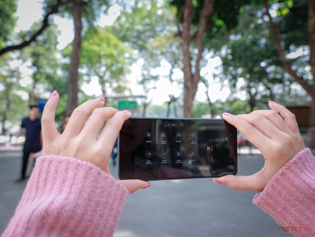 Trên tay Vsmart Aris Pro - điện thoại chính hãng camera ẩn đầu tiên tại Việt Nam giá 10 triệu ảnh 13