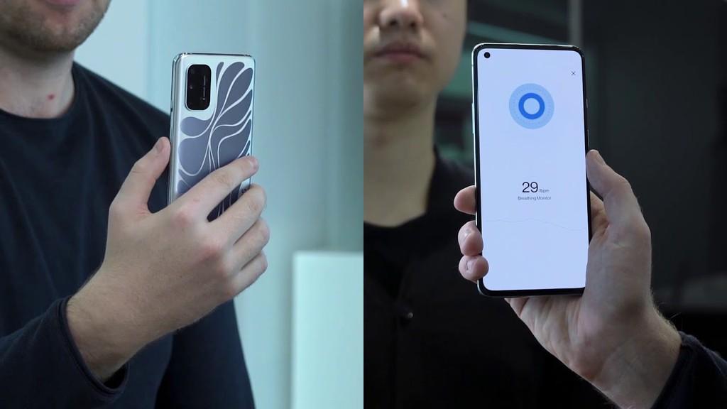 OnePlus 8T Concept lộ mặt lưng đổi màu bắt mắt và radar mmWave