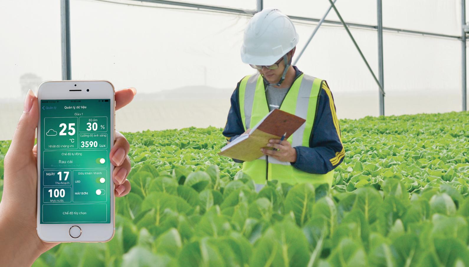 Công ty cổ phần công nghệ cao Hachi Việt Nam, tiền thân là dự án Startup Hachi – Nông nghiệp thông minh, được thành lập với sự đầu tư và hỗ trợ từ Quỹ Việt Nam Silicon Valley – Bộ Khoa Học và Công Nghệ. Ảnh: hachi