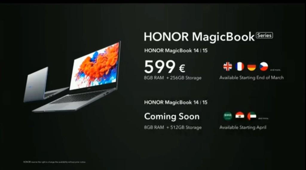Honor MagicBook 14 và MagicBook 15 trình làng với Ryzen 5 3500U SoC ảnh 4