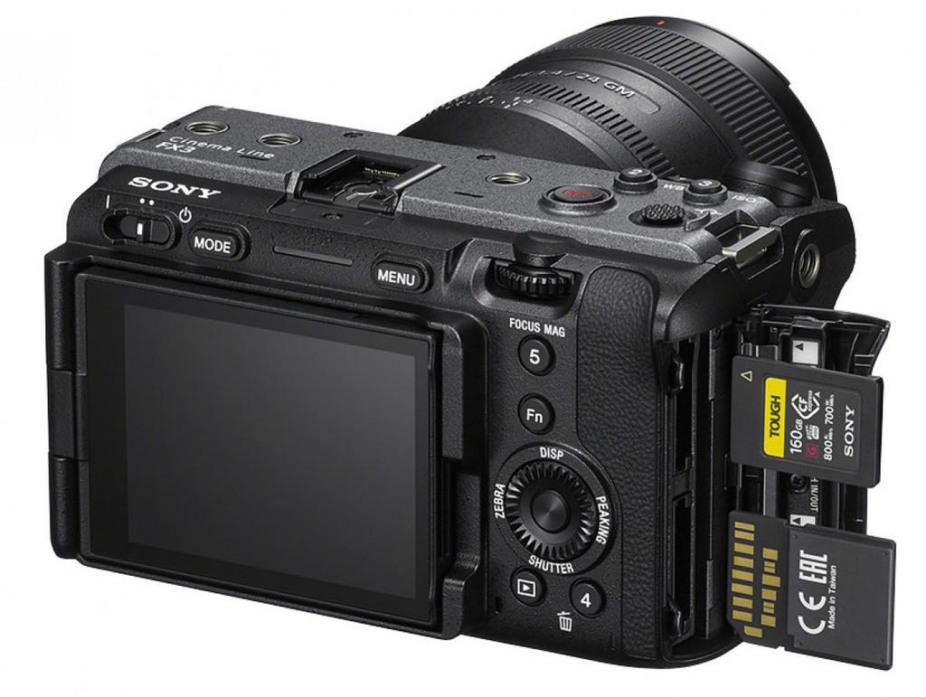 Sony FX3 ra mắt: máy ảnh full frame nhỏ gọn dòng Cinema giá phải chăng nhất ảnh 5