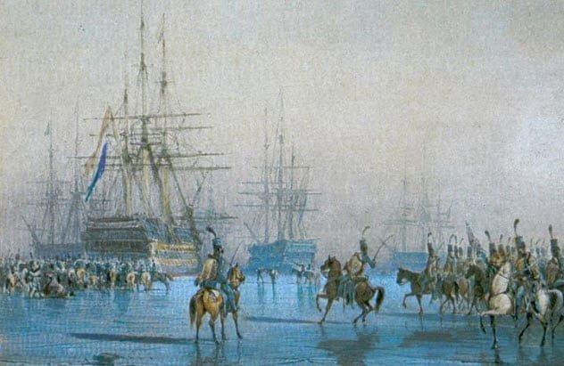 Bão đã giúp Pháp chấm dứt được cuộc chiến với Hà Lan.