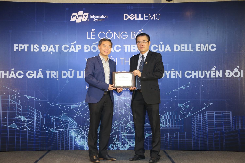 FPT IS trở thành đối tác cao cấp của Dell EMC
