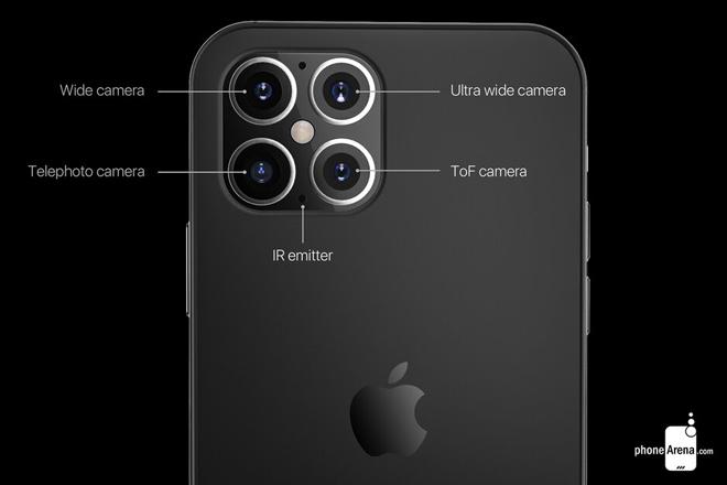 iphone 12 nam nay tiep tuc oanh tac voi camera sau