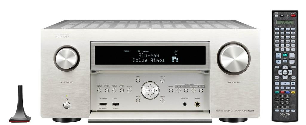 Denon tung receiver đầu bảng mới AVC-X8500 HA hỗ trợ video 8K, model cũ AVC-X8500H được hỗ trợ nâng cấp ảnh 4