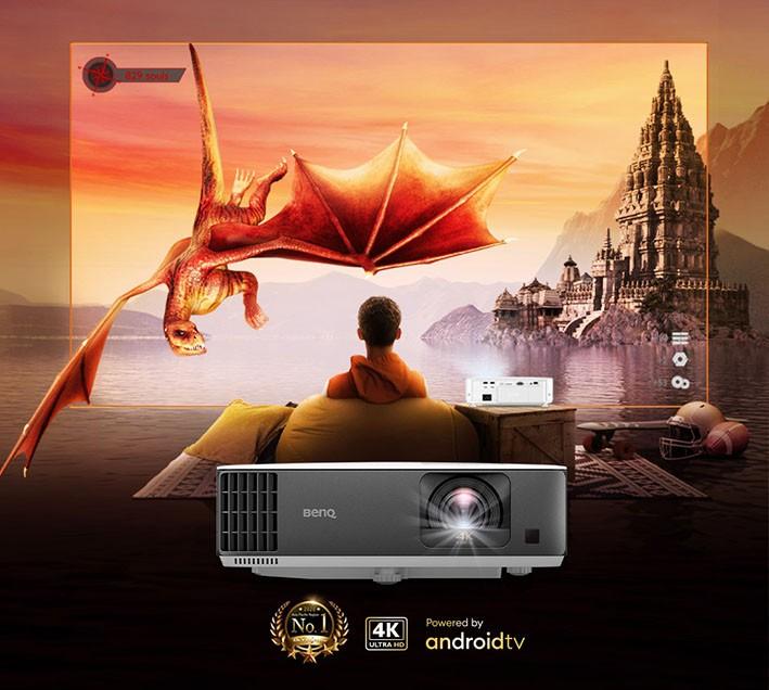 Máy chiếu BenQ 4K tái chiếm ngôi vị số 1 về thị phần tại khu vực Châu Á Thái Bình ảnh 1