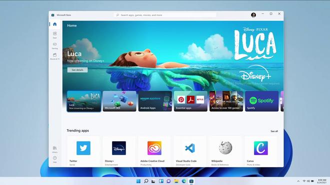 Windows 11 ra mắt: chạy được app Android, cập nhật miễn phí, cấu hình yêu cầu ảnh 5