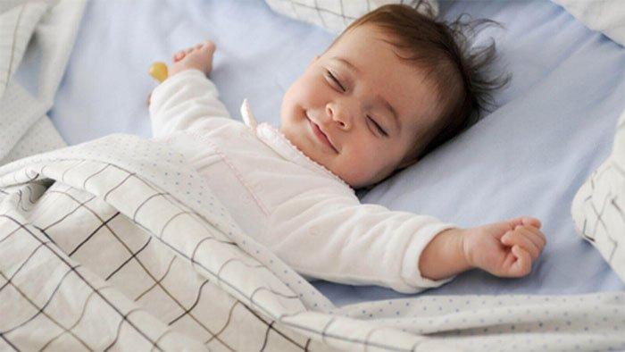 Bộ não trẻ xây dựng và kiến tạo củng cố các khớp thần kinh trong khi ngủ