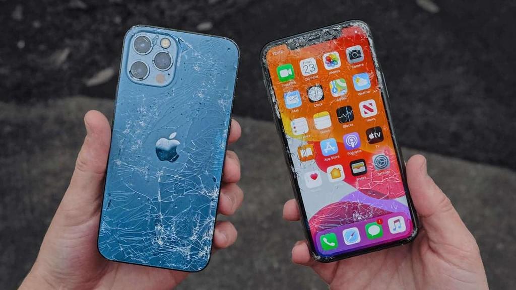Màn hình ceramic shield thể hiện đỉnh trong màn thử độ bền iPhone 12 ảnh 1