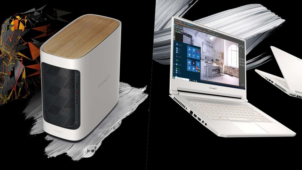 Acer ra mắt ConceptD 300 mới và hai chiếc ConceptD 7 ảnh 1