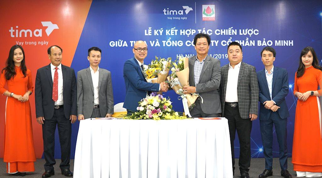Tima hợp tác Bảo Minh cung cấp bảo hiểm cho người đầu tư và người vay