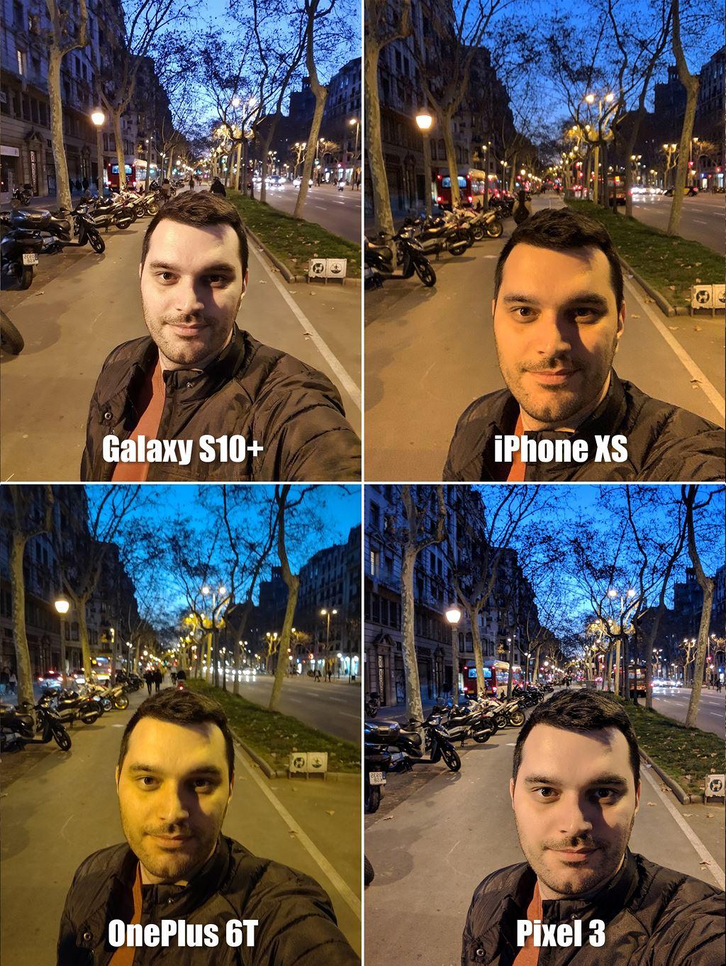 So ảnh selfie của Galaxy S10+, iPhone XS, Pixel 3 và OnePlus 6T ảnh 7