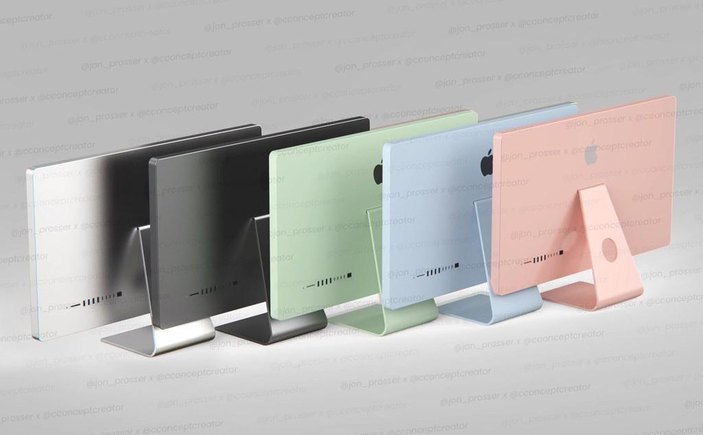 Năm 2021, iMac và Mac Pro Mini sẽ có thiết kế mới, nhiều màu như iPad Air ảnh 1
