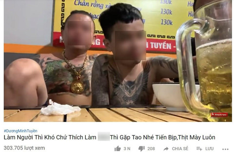 Loan kenh YouTube giang ho hut nguoi xem bang noi dung bao luc hinh anh 3