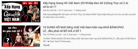 Loan kenh YouTube giang ho hut nguoi xem bang noi dung bao luc hinh anh 4