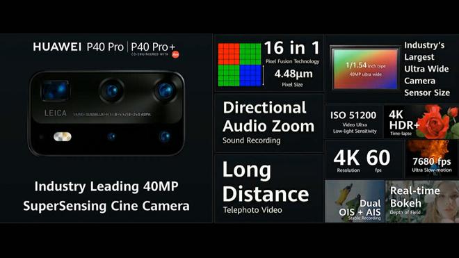 hot: ra mat huawei p40 pro/ p40 pro+: camera lon nhat, zoom xa nhat, sac nhanh nhat hinh anh 2