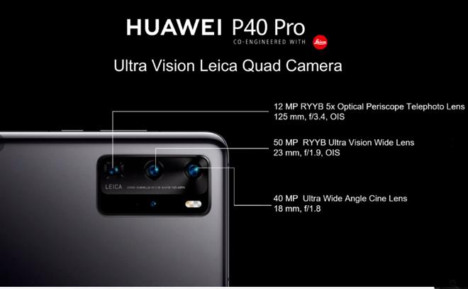 hot: ra mat huawei p40 pro/ p40 pro+: camera lon nhat, zoom xa nhat, sac nhanh nhat hinh anh 10