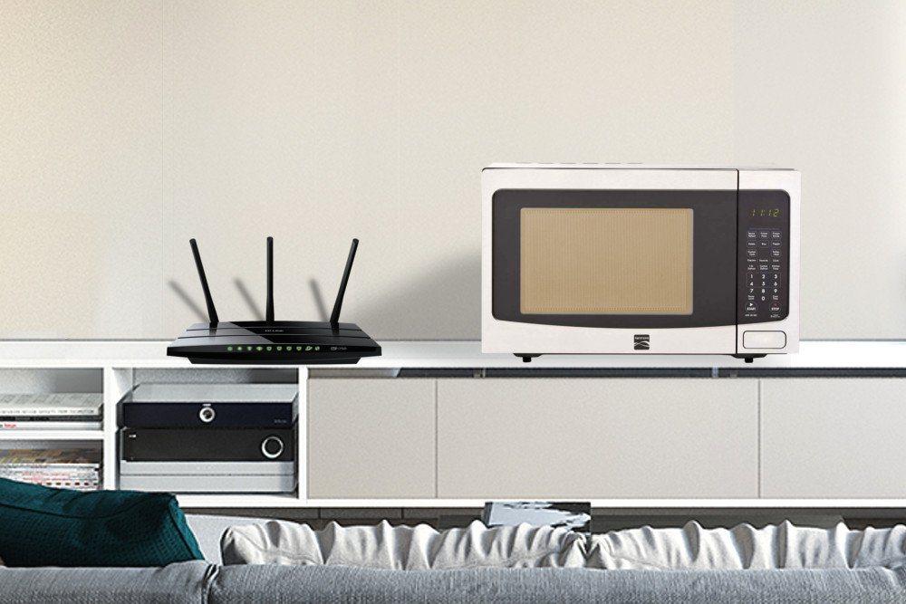 Tắt lò vi sóng để tăng tín hiệu Wi-Fi