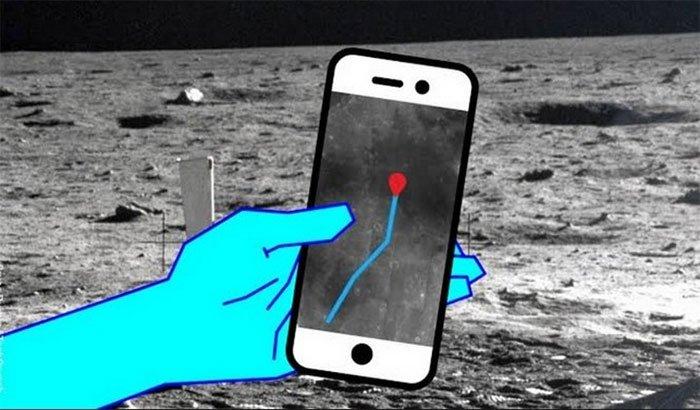 Về lý thuyết, chúng ta có khả năng định vị được trên Mặt trăng.
