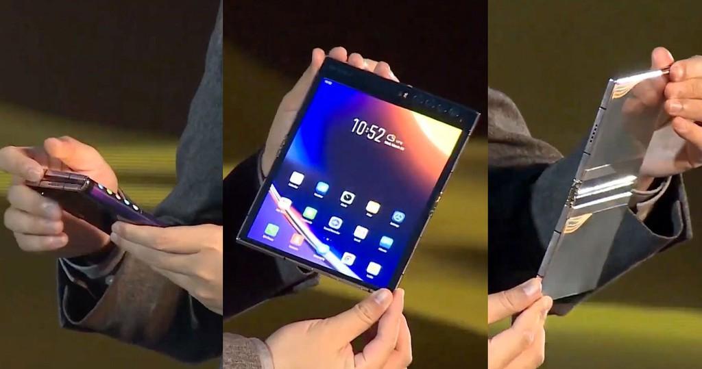 Royole ra mắt smartphone gập Flexpai 2, nâng cấp bản lề chắc chắn hơn ảnh 1
