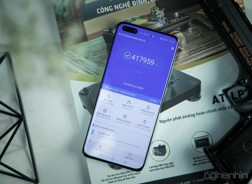 Cận cảnh Huawei P40 Pro tại Việt Nam phiên bản bạc băng giá: nhìn đã, sờ sướng ảnh 13