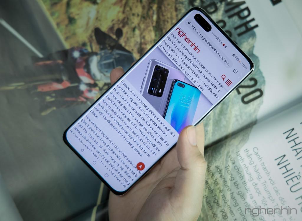 Cận cảnh Huawei P40 Pro tại Việt Nam phiên bản bạc băng giá: nhìn đã, sờ sướng ảnh 8