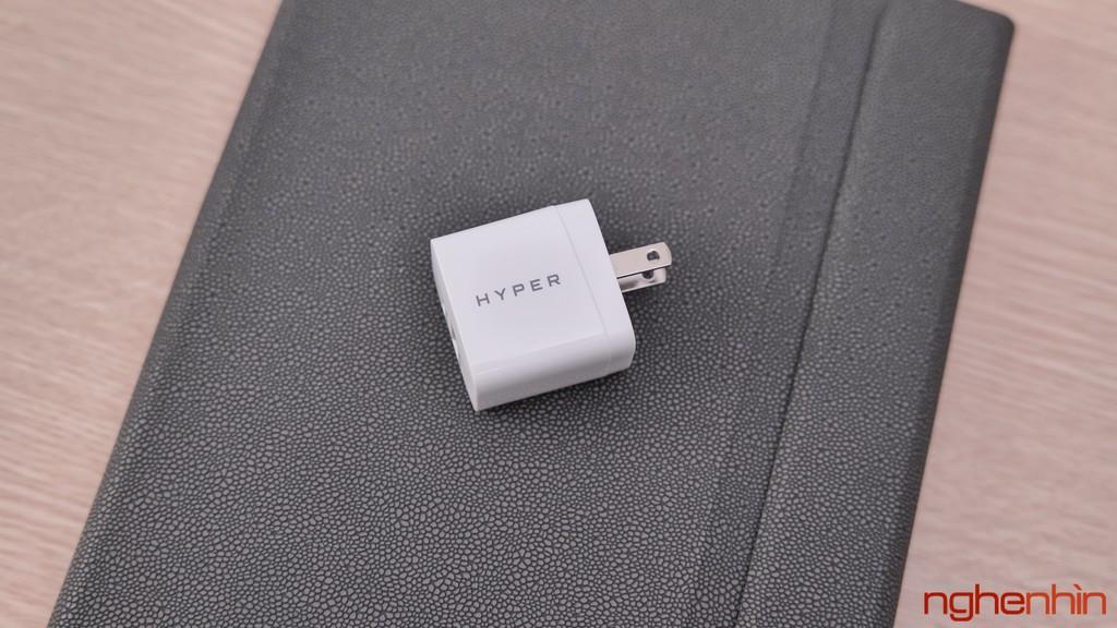 Trên tay củ sạc HyperJuice 20W: nhỏ nhắn, 2 cổng ra tiện lợi ảnh 1