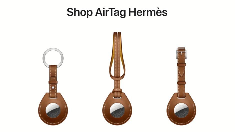Dây đeo Hermès AirTag dừng bán vì vấn đề chất lượng ảnh 1