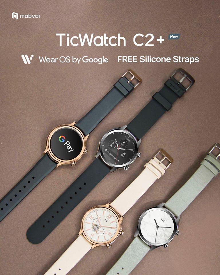 Mobvoi công bố TicWatch C2+ mới gấp đôi RAM ảnh 2