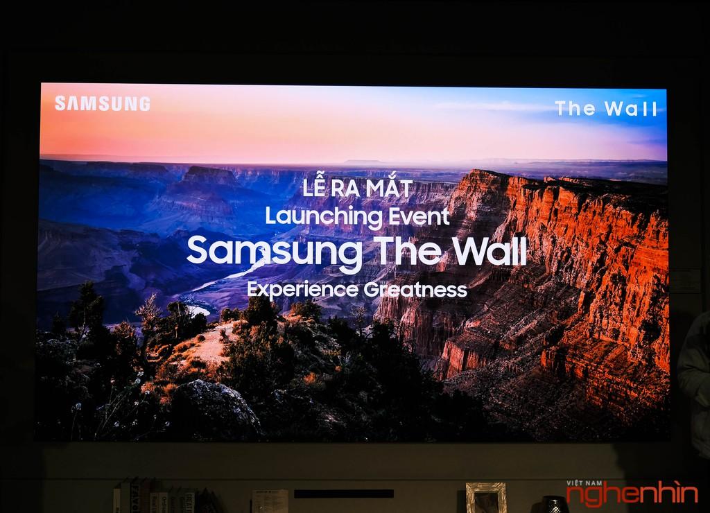 Samsung ra mắt màn hình The Wall 146 INCH giá từ 9 tỷ ảnh 1