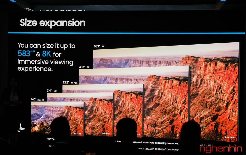 Samsung ra mắt màn hình The Wall 146 INCH giá từ 9 tỷ ảnh 3