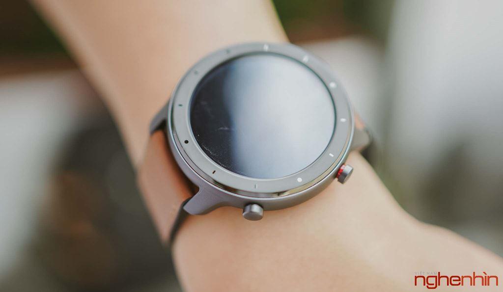 Amazfit GTR 47mm đầu tiên tại Việt Nam: pin cực trâu, thiết kế đẹp, giá 3,9 triệu đồng ảnh 8