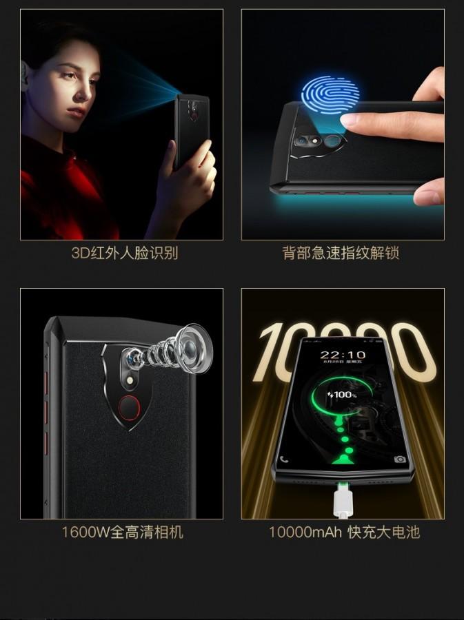 Gionee M30: smartphone pin 10.000 mAh, RAM 8GB, vỏ nhôm giá 4,6 triệu ra mắt  ảnh 3