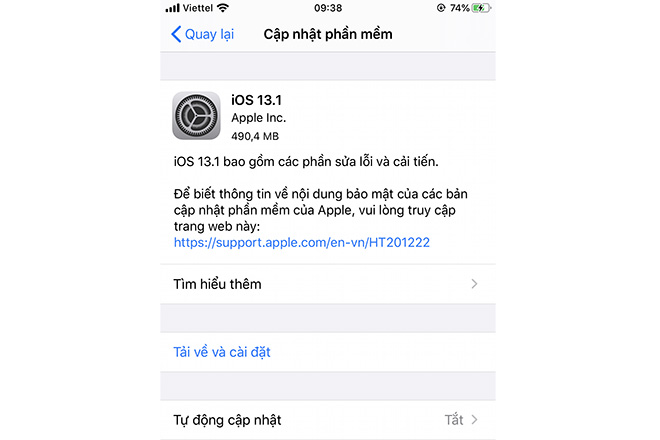 apple chinh thuc phat hanh ios 13.1 va ipados hinh anh 2